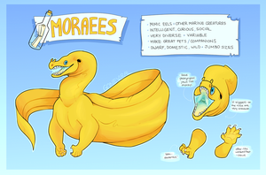 :: MORAEE SPECIES SHEET :: by GoneViral