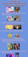 9 Reasons Why MLP:FiM and Power Rangers Are Alike by TigerFey