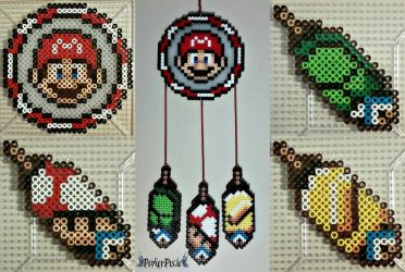 Mario DreamCatcher by PerlerPixie