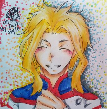 Young All Might! by OwOaBbYdY1000