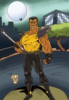 Adam Hunter from Streets of Rage by violencejack666