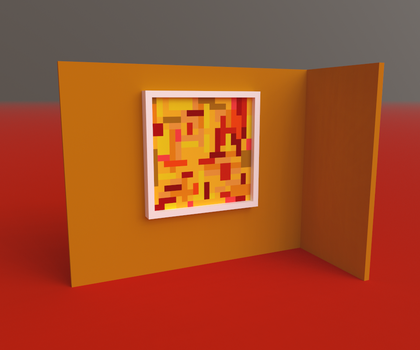 Abstract Pixelart by MikePestr