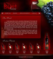 Wine Layout 1: debaut.ro by Neochron