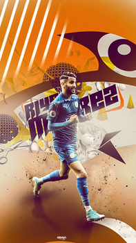 Riyad Mahrez Wallpaper by workoutf