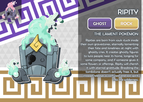 Ripity, the Lament Fakemon by AtmaFlare