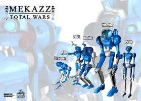 Mekazz the new design by Mangodo