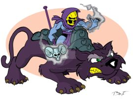 Skeletor by gatoviralata