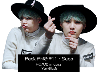 Pack PNG #11 - Min YoonGi (of BTS) |02| by YuriBlack