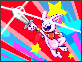 Explosive Charge Bunny by raywindz64