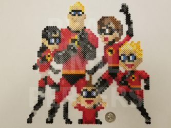 The Incredibles Perler by jrfromdallas