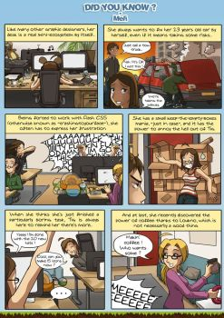 Comic strip : About Meli by meli