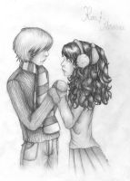 Ron and Hermione by PrimeHunter