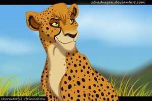 Commission- Ckel by Mganga-The-Lion
