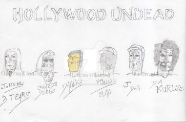 Hollywood Undead Day of the Dead Masks version 3 by UnicronHound