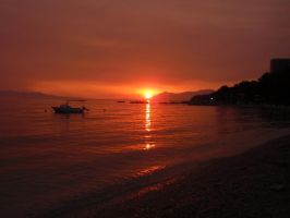 Sea on fire by Smile-Denise