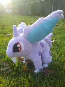 Nidoran Pokemon Plush by Misswd
