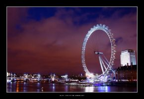 eye to the london sky by olya