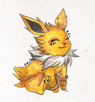 Jolteon by Rituhell