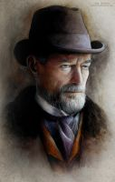Sir Malcolm Murray (Timothy Dalton) by MeduZZa13