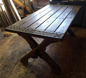Rustic Viking Table by Zrognak