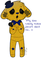poor golden freddy by MrMilkshake
