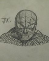 Spiderman Sketch  by MosakeJarakio
