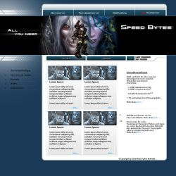 Speed Bytes hosting template by sheePcheN