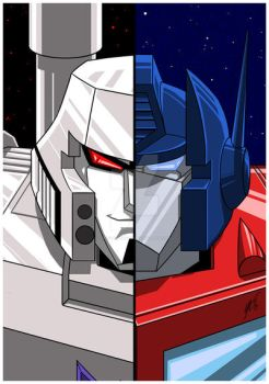 Optimus Megatron by AJFitzgerald