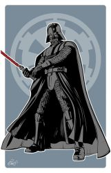 Star Wars Darth Vader by gravitydsn