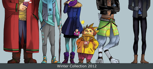 Winter fashion 2012 by LadyDeadPooly