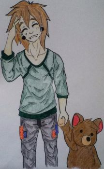 Michael and Teddy by ItisIAnsem