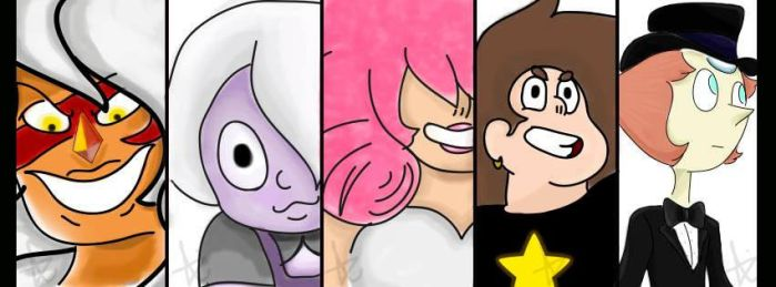 Steven Universe Grupal time :D by Drageldy