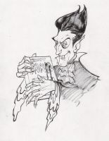 Count Chocula by our friend Joelle Jones by AshcanAllstars