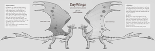 DayWing Official Reference Sheet by Spookapi