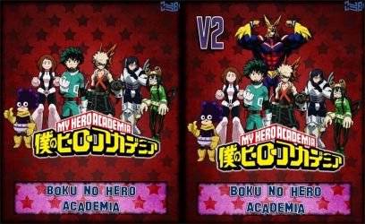 Boku no Hero Academia V1 and V2 (Hero ver) by Zule21