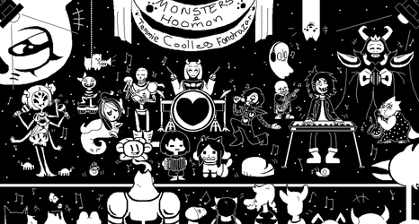 Undertale Band by fluffy0w0