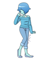Casual Blue Pearl Redo by MrChaseComix