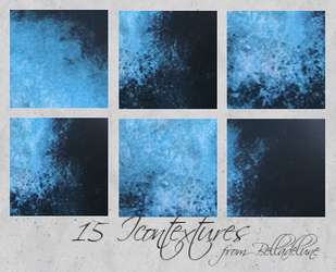 Blue Icon and Big Textures by zakurographics