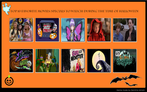 My Top 10 Favorite Halloween Specials by JasonPictures