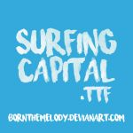 Font 003 // Surfing Capital .ttf by bornthemelody