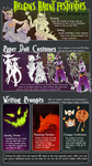 GROUP EVENT - HELGIN'S HAUNT TALENT SHOW Oct1-31 by Cloneclone