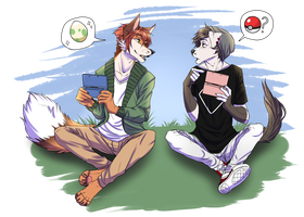 Pokemon -Collab- by Peggie-Sued