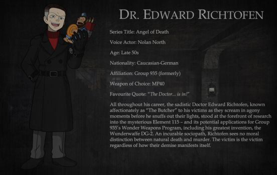 Character Bio - Dr. Edward Richtofen by D0ct0rrR1cht0f3n