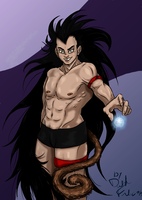 Raditz6 by DarkFalcon-Z