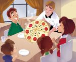 Who wants a pizza? by andersonmahanski