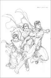 Action 17 Variant Cover Pencils by TerryDodson