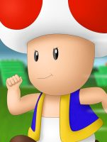 Character Portrait: Toad by BigDaddyDowney