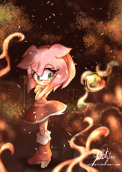 Amy rose in Sonic  Forces by Yulitzin