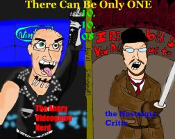 AVGN Vs The Nostalgia Critic by DoctorBollocks