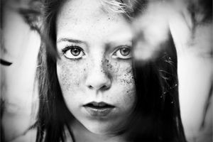 freckles and eyes by caitlin-may
